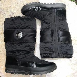 Coach Drexel winter boots